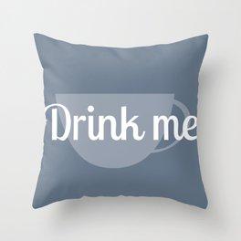 Alice in Wonderland- Drink Me Throw Pillow