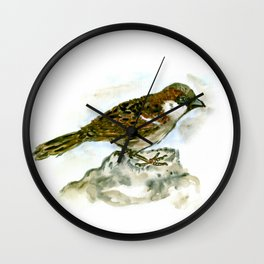 Sparrowman Wall Clock