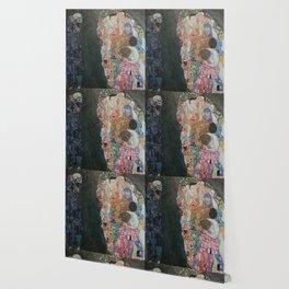 Life and Death - Gustav Klimt Wallpaper