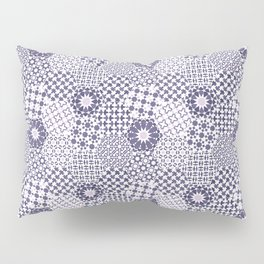 Spanish Tiles of the Alhambra - Violets Pillow Sham