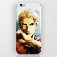viria iPhone & iPod Skins featuring Jason Grace by viria