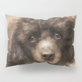 French Poodle Pillow Sham
