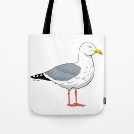 Angry Seagull 2 Tote Bag