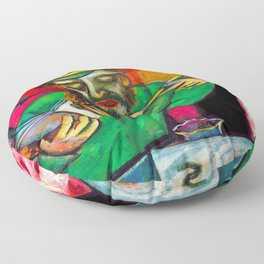 Marc Chagall Spoonful of Milk Floor Pillow