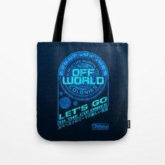 Off World Tote Bag