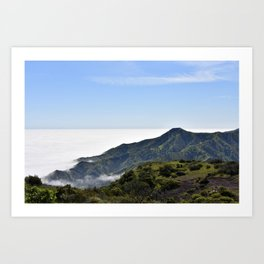 Whites Landing on Santa Catalina Island Art Print