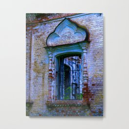 Window The Ensemble of the Monastery of Deposition of the Robe (16th - 20th centuries) Metal Print
