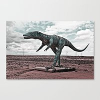 dino Canvas Prints featuring Dino by Nick Douillard