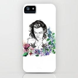Flower Jesus iPhone Case