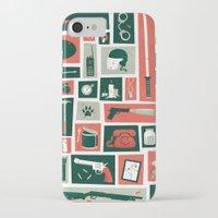 walking dead iPhone & iPod Cases featuring The walking dead by Felix Rousseau