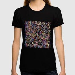 Rainbow Worms Confetti T-shirt