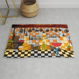 Ratatouille's Kitchen Rug