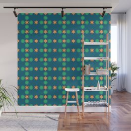 Winter Season with a touch of Green Wall Mural
