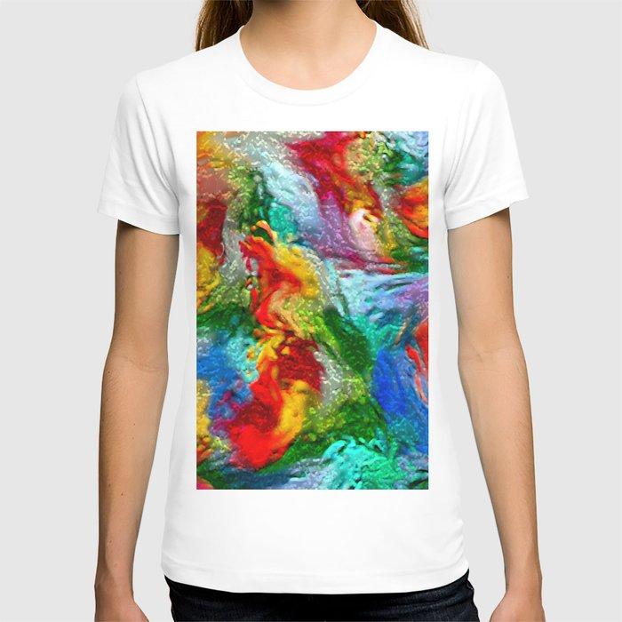 Magic Carpet Ride Abstract T-shirt
