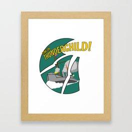 HMS Thunderchild Framed Art Print