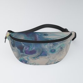 Wild Stallion- Abstract Acrylic Art By Fluid Nature Fanny Pack