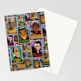 MONSTER Mail by iamjohnlogan Stationery Cards