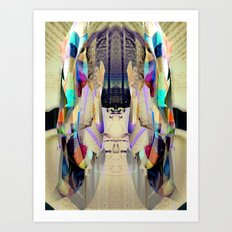 Chromatic Sanctum Art Print