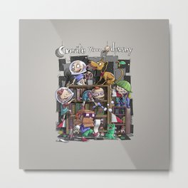 Create your Odyssey Metal Print