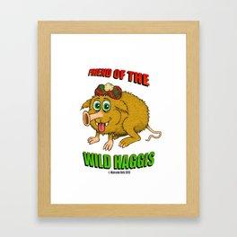 Friend of The Wild Haggis Framed Art Print