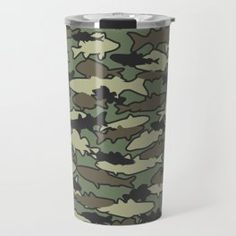 Fish Camo JUNGLE Travel Mug