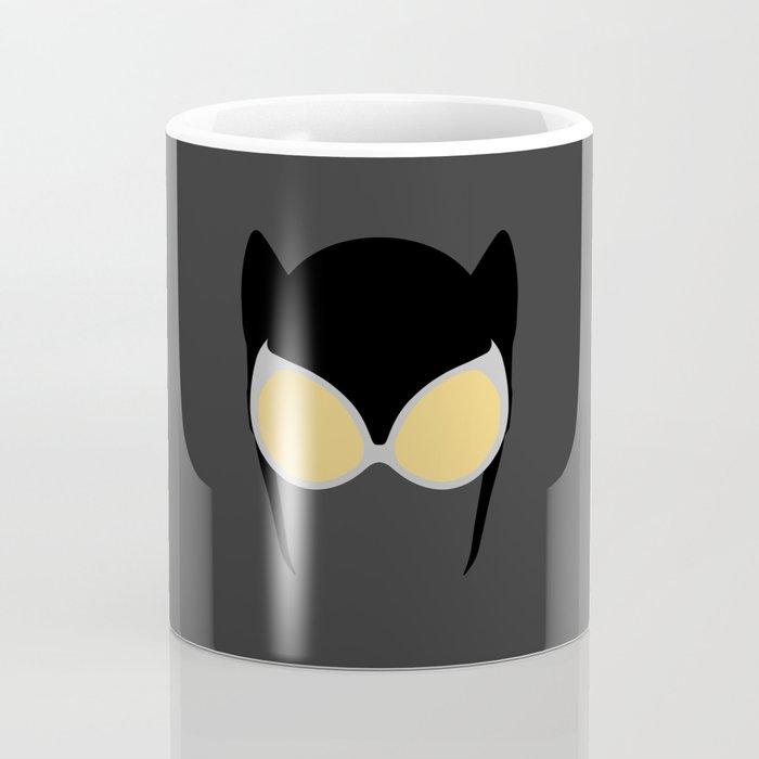 Catwoman Mask Coffee Mug