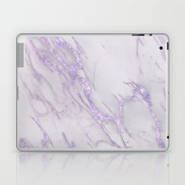 Ultra Violet Marble Laptop & iPad Skin