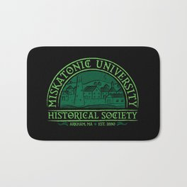 Miskatonic Historical Society Bath Mat