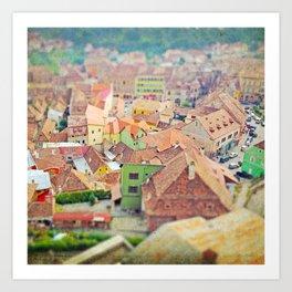 Transylvania I Art Print