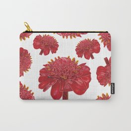 Floral Theme- Ginger Lily Watercolor Illustration Carry-All Pouch