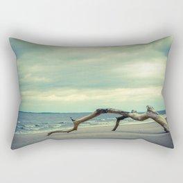 The Cove Abstract Coastal Landscape Photograph Rectangular Pillow