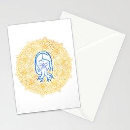 Namaste | Wisdom Flower Mandala Stationery Cards
