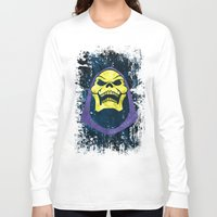 skeletor Long Sleeve T-shirts featuring Skeletor by Some_Designs