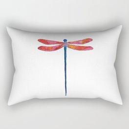 Dragonfly art illustration Rectangular Pillow
