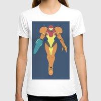 samus T-shirts featuring Samus(Smash) by samaran