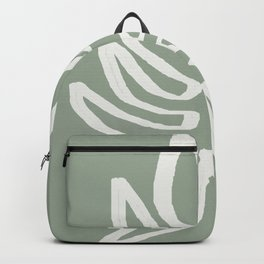 Abstract Leaf Backpack