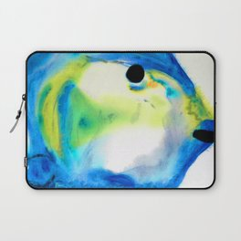 Tropical Fish 3 - Abstract Art By Sharon Cummings Laptop Sleeve