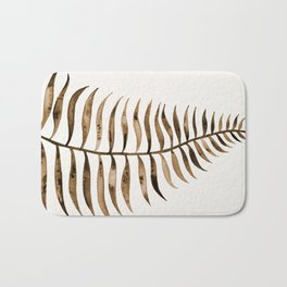 Palm Leaf – Sepia Bath Mat