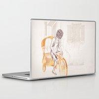 sam smith Laptop & iPad Skins featuring Sam by David Fleck