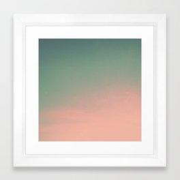 Gradient Series 001. Framed Art Print