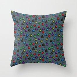 Stardew Valley Slime Hutch Pattern Throw Pillow