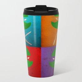 TMNT Collection Metal Travel Mug