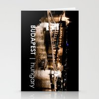 budapest Stationery Cards featuring Budapest Nights by Roberto Dumonte