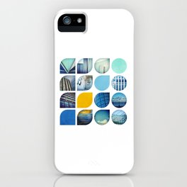 Cold Comfort Collage — The Blues iPhone Case