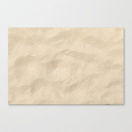 Light Brown Sand texture Canvas Print
