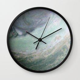 Saturn Infrared Wall Clock