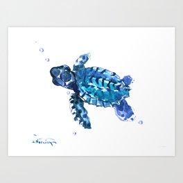 Sea Turtle Hawaii Art Print