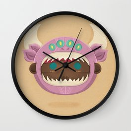 Girl Monster Wall Clock