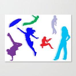 People [SWAG] Canvas Print