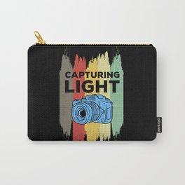 Capturing Light - Retro Photo Camera Carry-All Pouch